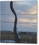 Crooked Wood Print