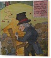 Crooked Man Wood Print