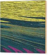 Crops Wood Print
