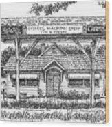 Crosby's Machine Shop Wood Print