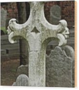 Cross Of Old Wood Print