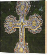 Cross Of The Epiphany Wood Print