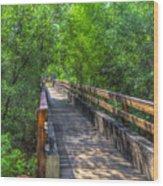 Cross Over The Bridge - Sedona Arizona Wood Print