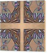 Cross Reflections Wood Print