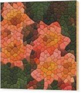 Cross Vine Wood Print