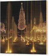Crown Center Christmas 2 Wood Print
