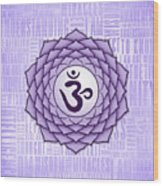 Crown Chakra - Awareness Wood Print