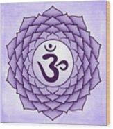 Crown Chakra Wood Print
