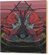 Crown Of Hell Wood Print