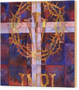 Crown Of Thorns Wood Print by Mark Jennings