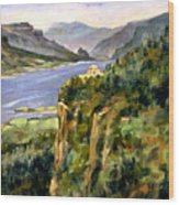 Crown Point Oregon Wood Print
