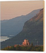 Crown Point Panorama Wood Print