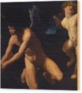 Crowned Love And Profane Love 1623 Wood Print