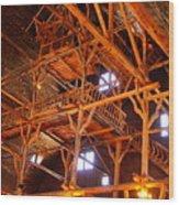 Crow's Nest Wood Print