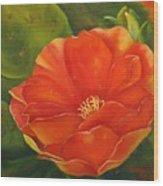 Cruces Bloom Wood Print