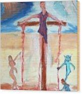 Crucifixion Of Jesus Wood Print