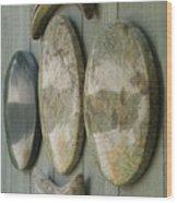 Cruciform Detail Wood Print by William Lowrey