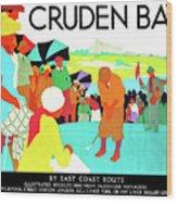 Cruden Bay, Golf Club, East Coast Route Wood Print