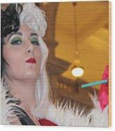 Cruella Wood Print