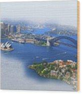 Cruise Sydney Wood Print
