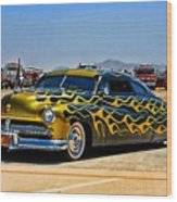 Cruisin 49 Mercury Wood Print
