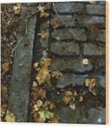 Crumbling Wood Print