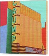 Crump Color Wood Print