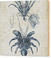 Crustaceans - 1825 - 28 Wood Print