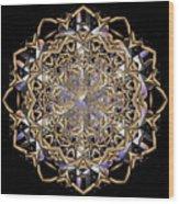 Crystal Ahau 2 Wood Print