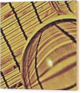 Crystal Ball Project 100 Wood Print