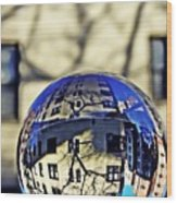 Crystal Ball Project 63 Wood Print