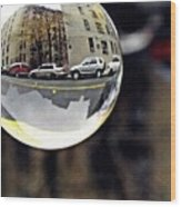 Crystal Ball Project 89 Wood Print