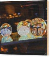 Crystal Balls Wood Print
