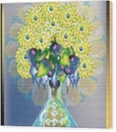 Crystal Boquet Wood Print