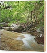 Crystal Brook - Lincoln New Hampshire Usa Wood Print