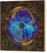 Crystal Bubble Wood Print