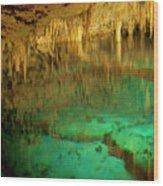 Crystal Cave Hamilton Parish Bermuda Wood Print