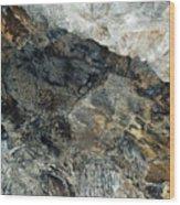 Crystal Cave Marble Ceiling Wood Print