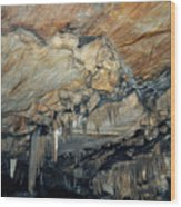 Crystal Cave Marble Wood Print