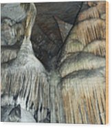 Crystal Cave Portrait Sequoia Wood Print