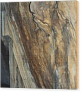 Crystal Cave Walls Wood Print