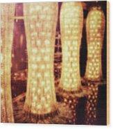 Crystal Dresses Wood Print