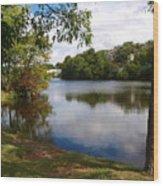 Crystal Lake  Wood Print