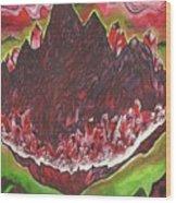 Crystal Mountain Wood Print