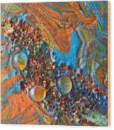 Crystal Reef Of The Keys Wood Print