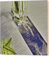 Crystal Reflections Wood Print