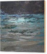 Crystal Sea Wood Print