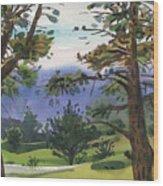 Crystal Springs Fairway Wood Print