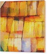 Crystal Symphony Wood Print by Lutz Baar