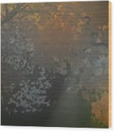 Crystal Tree Top Wood Print